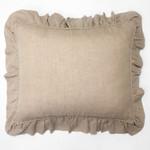 Amity Home Basillo linen Dutch Euro Pillow - Natural