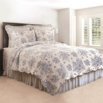 C&F Nelly Quilt Set - Blue