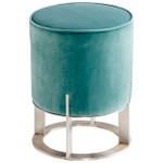 Cyan Design Opal Throne Ottoman - Teal