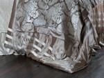 Lili Alessandra Angie Duvet Cover - Champagne Velvet / Ivory Velet