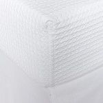 Amity Home Waffle Box Spring Cover - White
