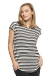 Bamboo Dreams® Cassidy Tunic - Black/Stripe