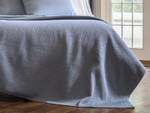 Lili Alessandra Retro Quilted Coverlet - Blue Silk &  Sensibility