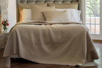 Lili Alessandra Retro Quilted Coverlet - Taupe Silk & Sensibility