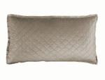Lili Alessandra Chloe Fawn Velvet King Pillow