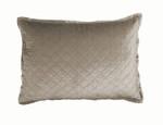 Lili Alessandra Chloe Fawn Velvet Luxe Euro Pillow
