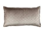 Lili Alessandra Chloe Champagne Velvet King Pillow