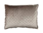 Lili Alessandra Chloe Champagne Velvet Luxe Euro Pillow