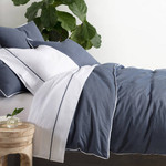 Pine Cone Hill Chambray Blue Duvet Cover