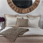 Ann Gish Imprint Duvet Cover Set - Pearl