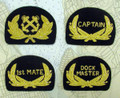 Captain and Officer Hat Devices