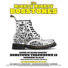737 Special 3 - night ticket package. GA floor tickets for each night of The Mighty Mighty BossToneS Hometown Throwdown 19 at House of Blues Boston - Dec. 28, 29, & 30, 2016.