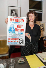 "Limited Edition ""Low Fidelity"" Silk Screen Poster"