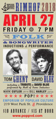 Rhode Island Music Hall of Fame Induction Ceremonies and Concert Honoring Tom Ghent and David Blue