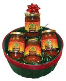 A Four Salsa Basket.