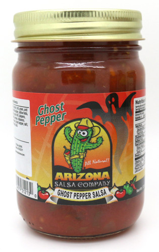 The kind of heat with flavor mixture that will keep you coming back for more.  You will taste the flavor of the 11 different kinds of peppers that make up this Ghost Pepper Smokey salsa.
