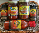 Award Winning Sauces and two seasonings.  All natural and made fresh to order. Flavor Flavor Flavor!
