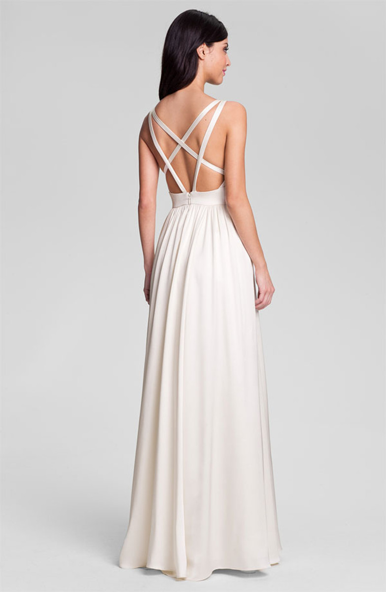 Nicole miller wedding dress elizabeth style gm0004 for Nicole miller wedding dresses nordstrom