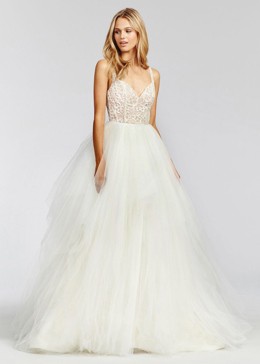 Blush by hayley paige dress scout 1657 blush bridal for Hayley paige wedding dresses