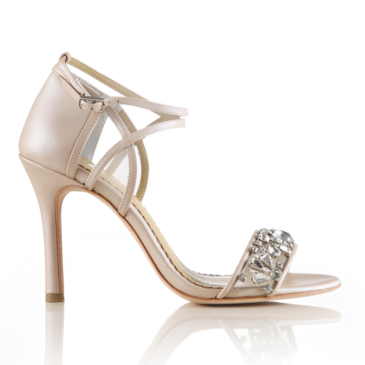 Bella Belle Filipa Wedding Shoes Blush Bridal