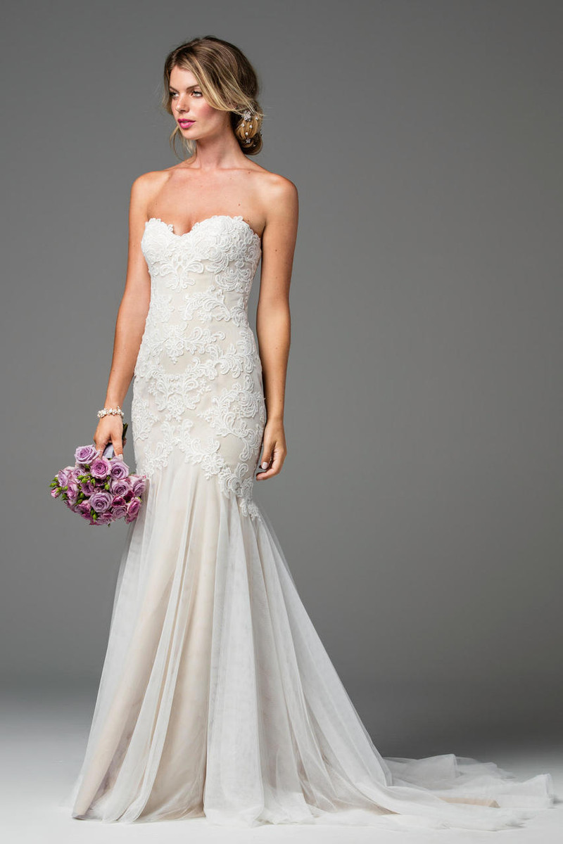 Wtoo wedding dress lapis style 18724 blush bridal ombrellifo Image collections