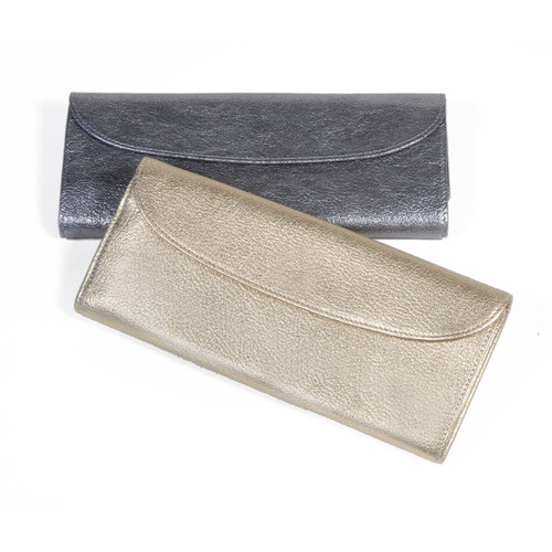 Jewelry Roll-Metallics Leather