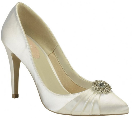 Honey Dyeable Satin Shoes