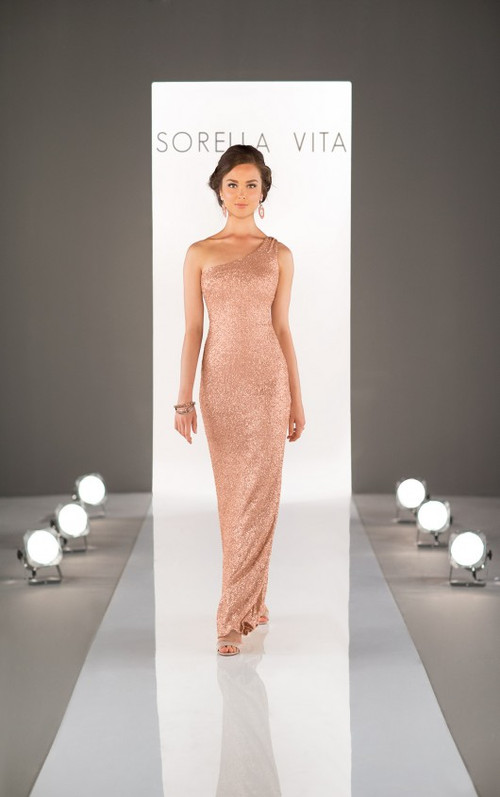 Sorella Vita Sequin Bridesmaid Dress 8726