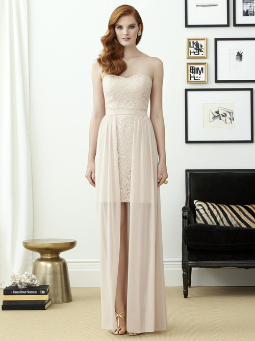 Dessy Bridesmaid Dress 2954
