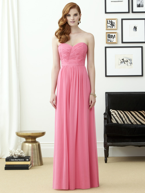 Dessy Bridesmaid Dress 2957