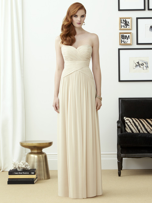 Dessy Bridesmaid Dress 2960