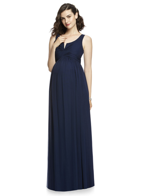 Dessy Maternity Bridesmaid Dress M424