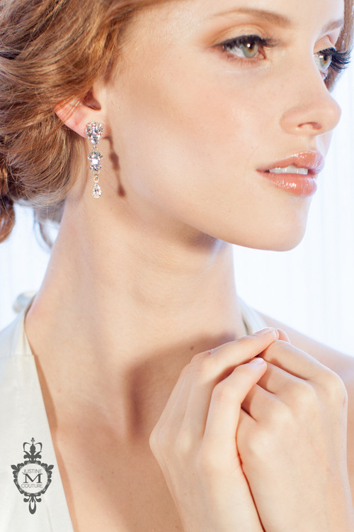 Justine M. Couture Whitney Earrings