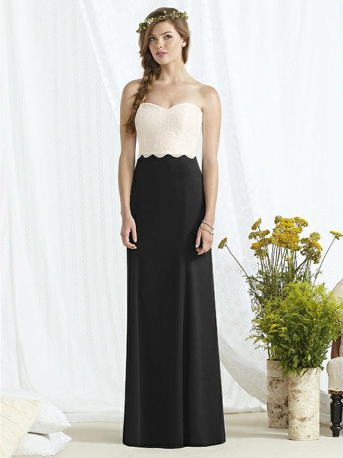 Dessy Bridesmaid Dress 8162