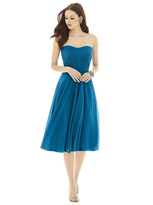 Alfred Sung Bridesmaid Dress D726