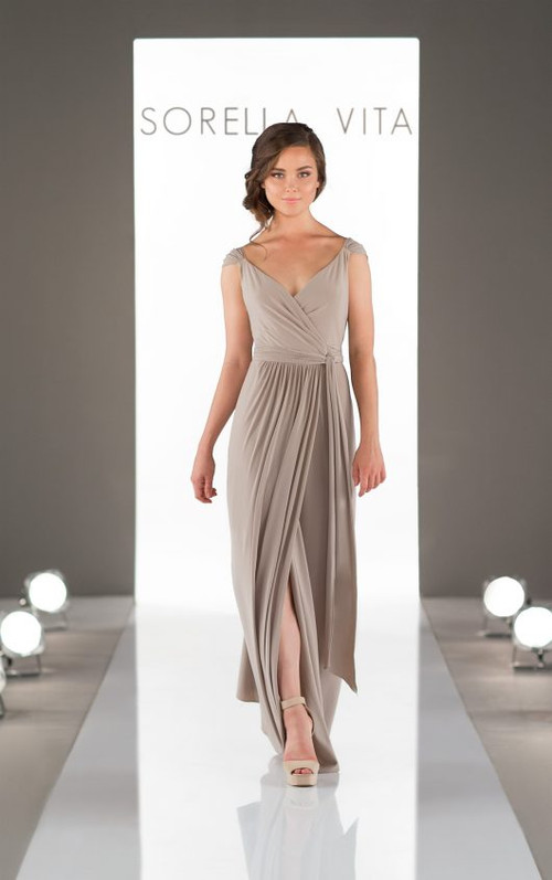 Sorella Vita Sequin Bridesmaid Dress 8874