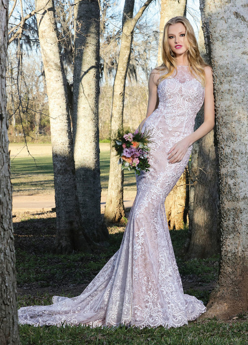 Ashley & Justin Wedding Dress 10422
