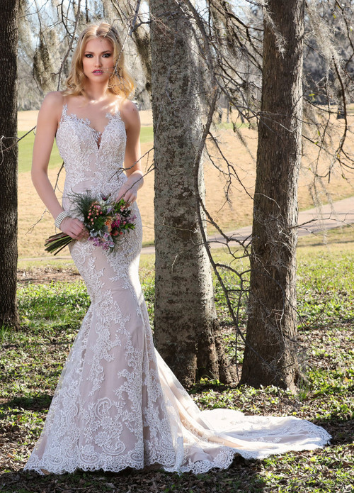 Ashley & Justin Wedding Dress 10426
