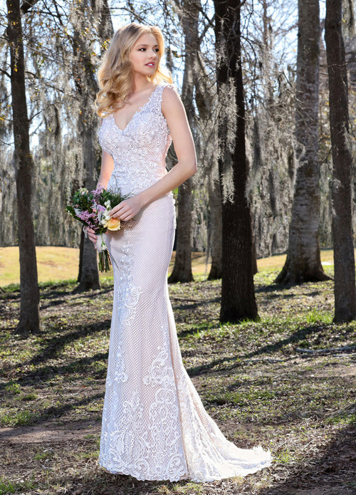 Ashley & Justin Wedding Dress 10436