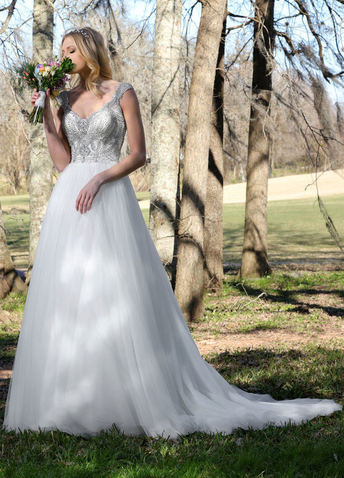 Ashley & Justin Wedding Dress 10427