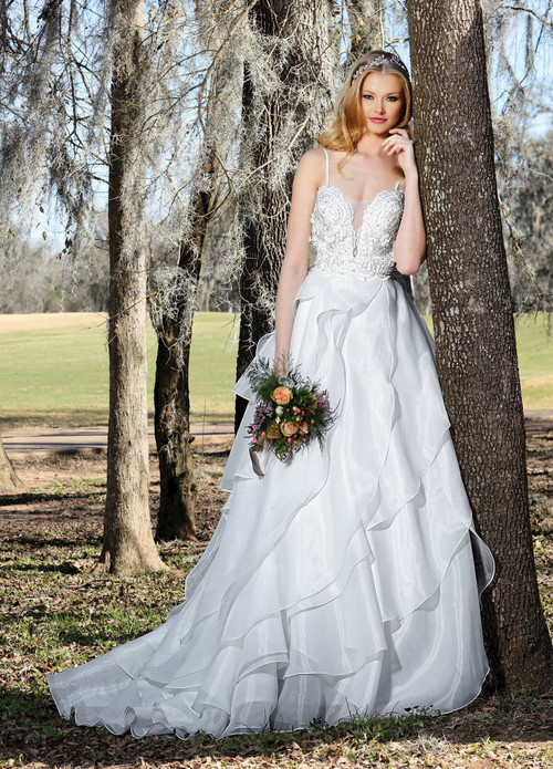 Ashley & Justin Wedding Dress 10428