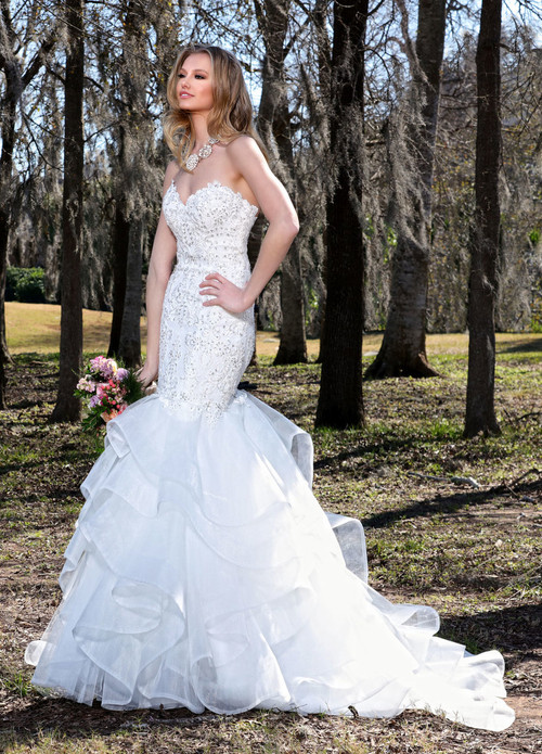 Ashley & Justin Wedding Dress 10429