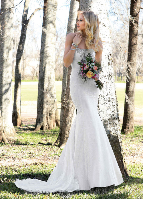 Ashley & Justin Wedding Dress 10432