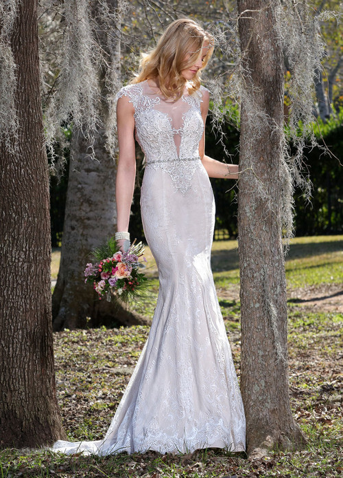 Ashley & Justin Wedding Dress 10434