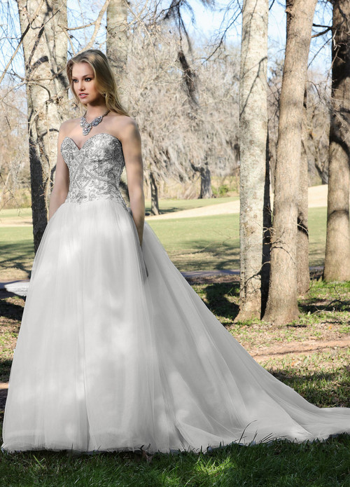 Ashley & Justin Wedding Dress 10438