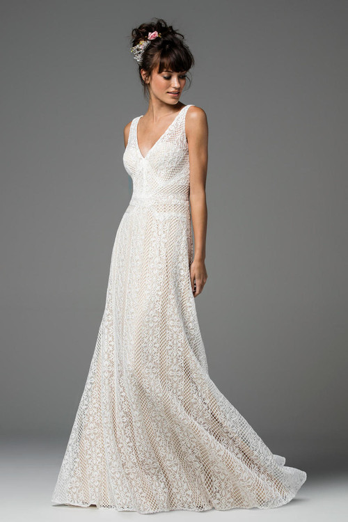 Willowby Wedding Dress Brighton (Unbeaded)