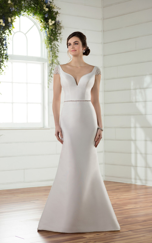 Essense of Australia Wedding Dress D2427