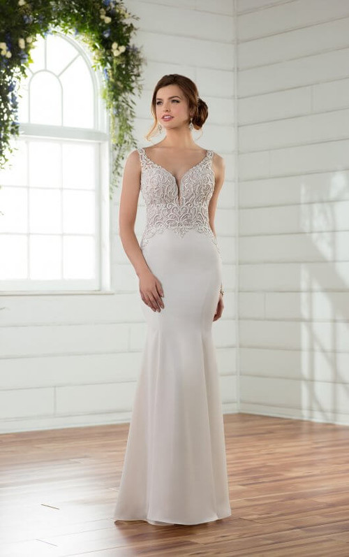 Essense of Australia Wedding Dress D2394