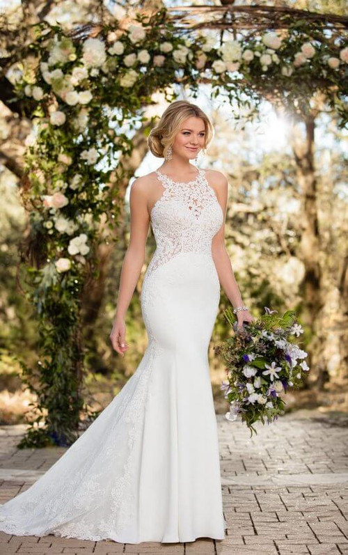 Essense of Australia Wedding Dress D2342
