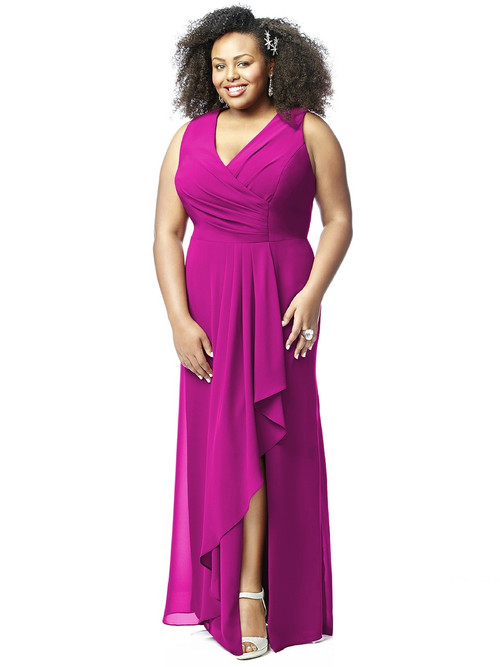 Lovelie Plus Size Bridesmaid Dress 9010